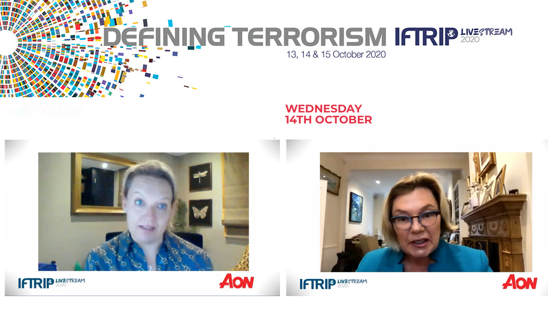 Professor Paula Jarzabkowski moderated a panel session on 'Coverage Gaps and How to Fill Them' at IFTRIP LIVESTREAM 2020